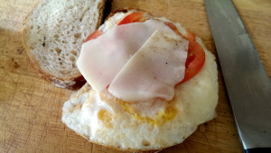 sourdough egg sandwich