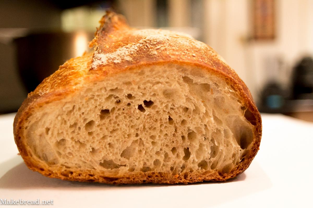 josey baker bread crumb shot
