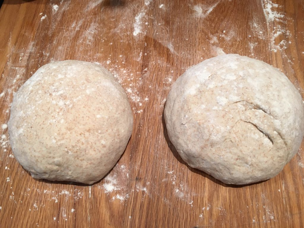Sourdough Bread pre-shaped